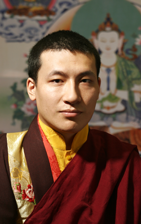 H.H. 17th Karmapa Trinley Thaye Dorje - pictured in London